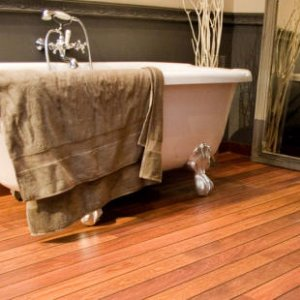 Lovely Laminate Bathroom Flooring